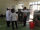 Sell washing machine for hospital throughout the Viet Nam country